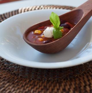 Chili con carne y chocolate