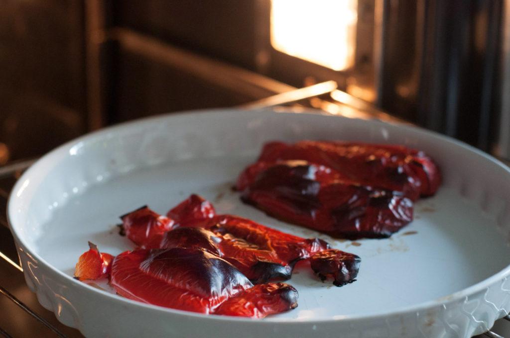 Geröstete Paprika